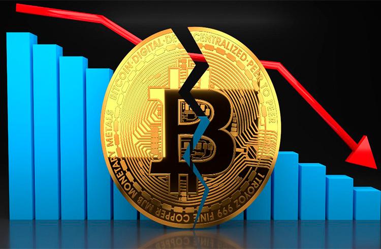 Bitcoin despenca aos R$ 53.000 e ameaça deixar alta