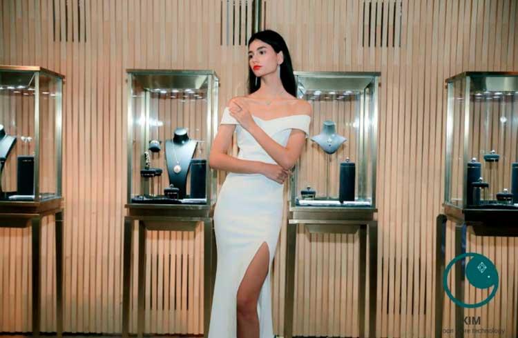 Blockchain-KIM Diamond anuncia sua loja principal e a linha de joias Selene Moon Goddess