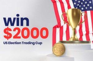 Como a eleição dos EUA afetará os mercados? Junte-se a SimpleFX Trading Cup