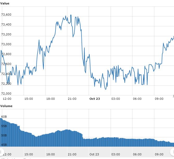 Gráfico WorldCoinIndex