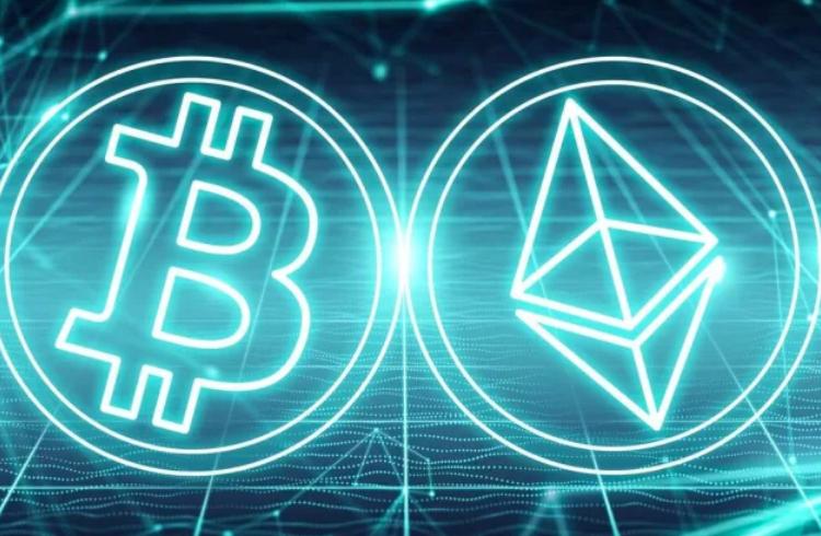 Bitcoin e Ethereum ocupam 44% do mercado de DeFi