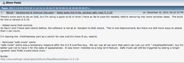 """Satoshi """"deixa o Bitcoin"""" para Gavin Andressen"""