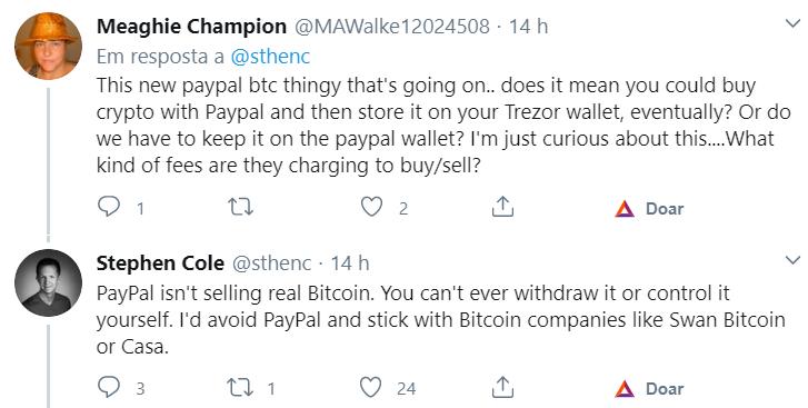 Paypal- Bitcoin