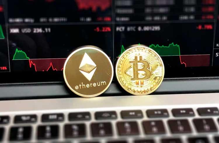 Contratos futuros deixam traders de Ethereum e Bitcoin otimistas
