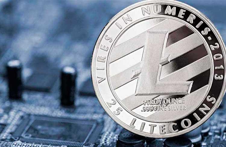 Litecoin valoriza 35% e pode buscar os R$ 450