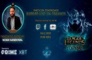 PrimeXBT patrocina torneio de League of Legends com mais de US$ 1.500 de prêmios
