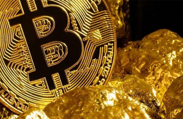 Ouro declina enquanto Bitcoin rompe recorde e dispara 6%