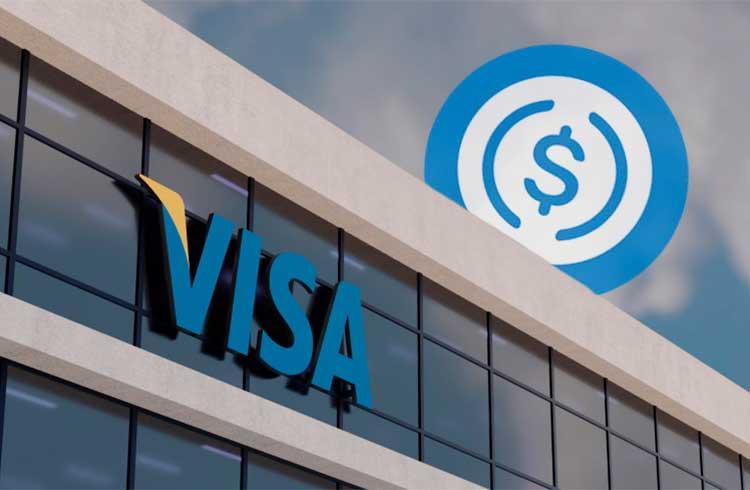 Visa anuncia integração com a stablecoin USDC
