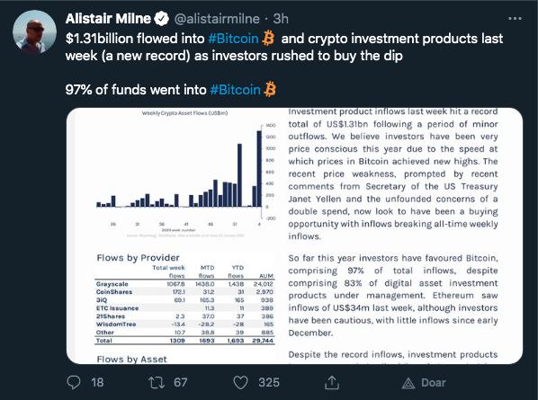 Gestor Allistair Milne destaca forte captação de fundos