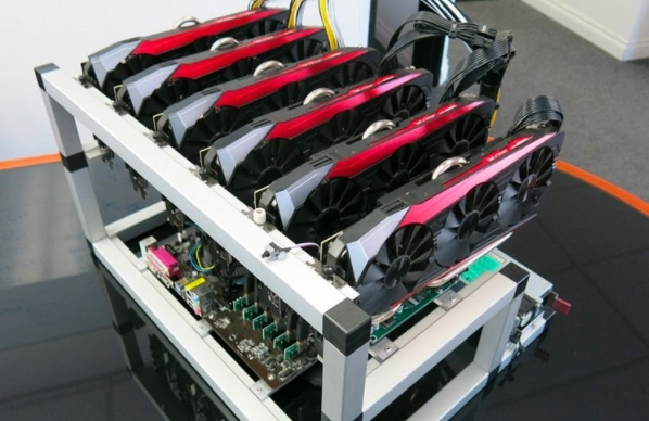 Placas de vídeo minerando Ethereum
