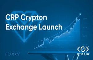 Crypton Exchange: negocie CRP sem KYC ou limites, apenas na Utopia P2P