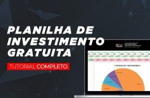 Planilha para gerenciar investimentos em Bitcoin