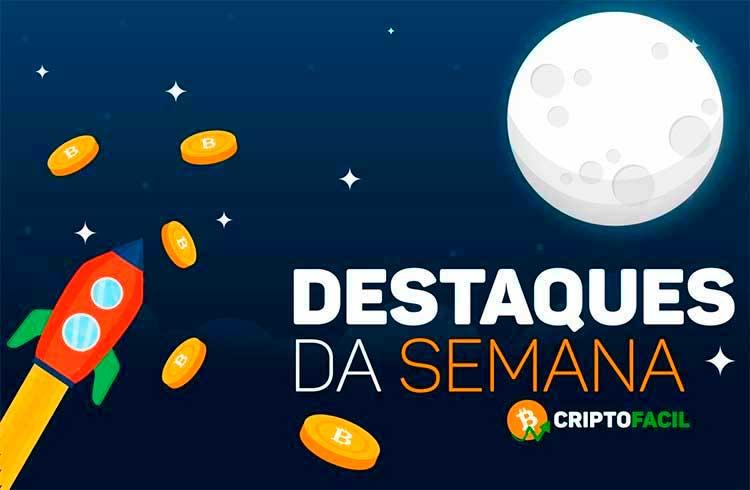 Semana das criptomoedas: criptomoeda valoriza 6.548% em 24 horas, bilionários indicam moedas digitais e baleia move milhões de XRP