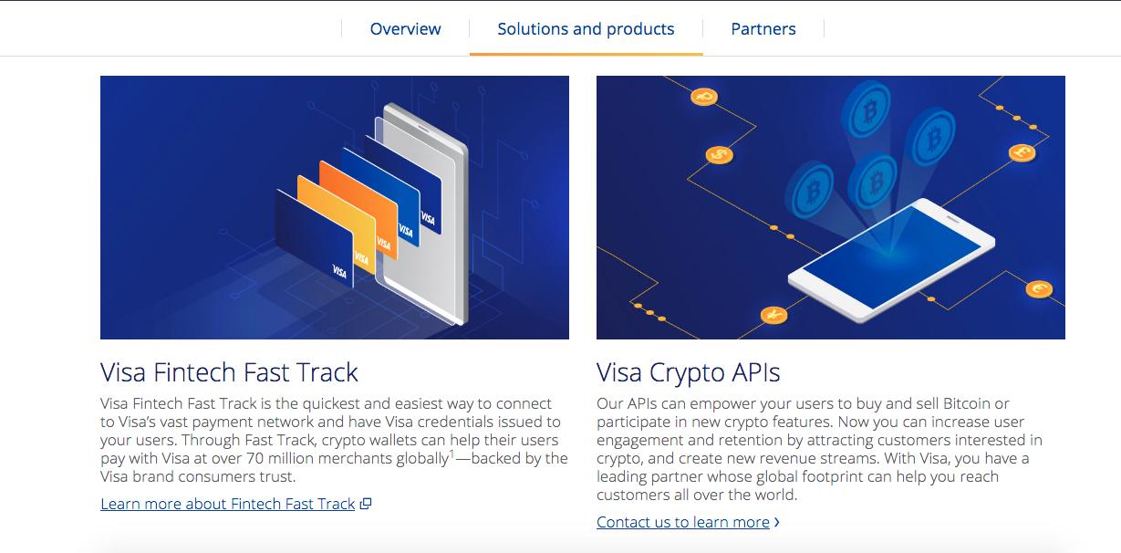 Visa anuncia serviço que permite compra de criptomoedas