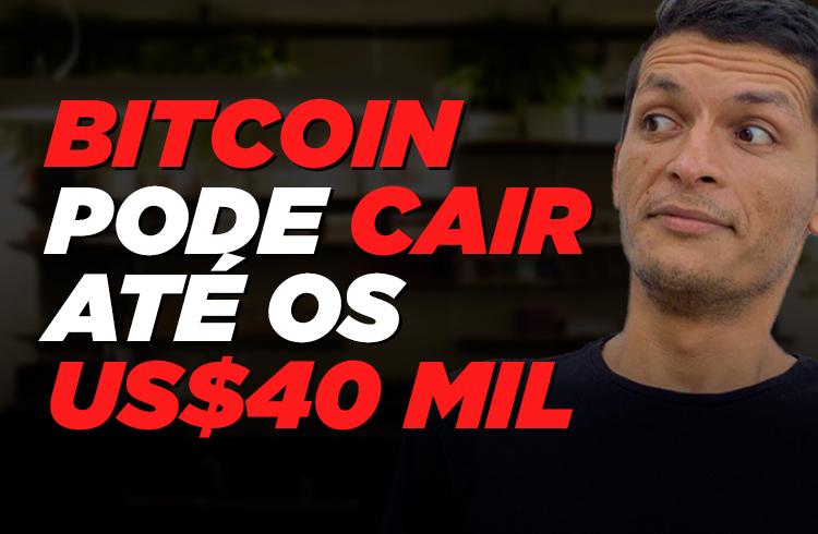 Bitcoin cai 18% e é só o começo!