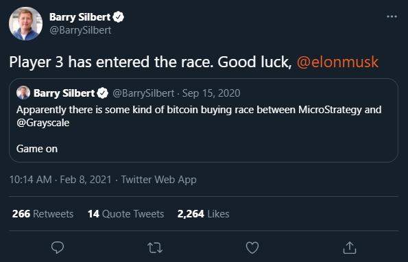 """Silbert deseja """"boa sorte"""" a Elon Musk"""