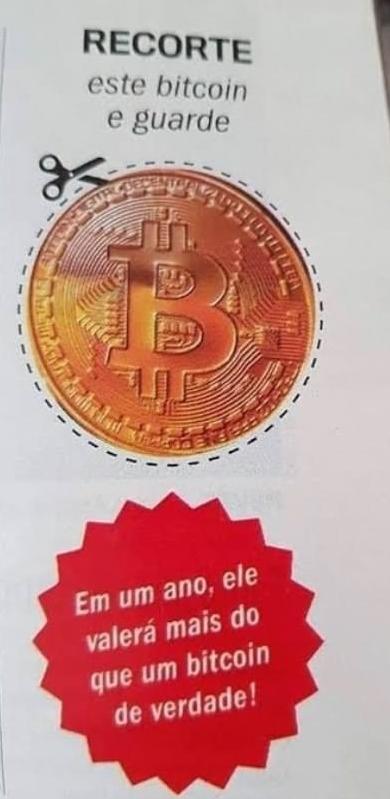 """""""Previsão"""" da revista Veja sobre preço do Bitcoin"""
