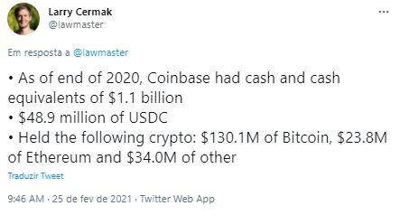 Fonte: Larry Cermak/Twitter
