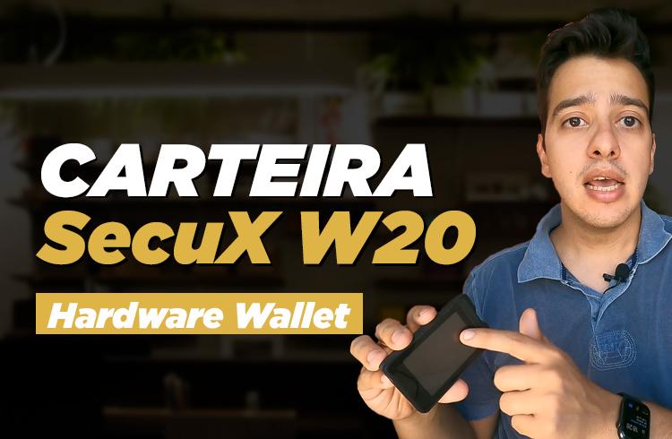 Testamos uma carteira SecuX W20; veja o que achamos!