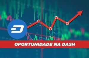 Análise Dash: DASH cai 50% e gera chance de compra