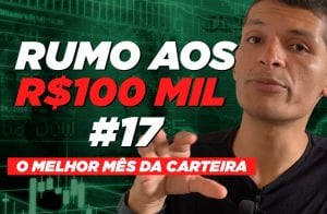 Mês turbulento no Bitcoin me fez lucrar! | Rumo aos 100 mil #17