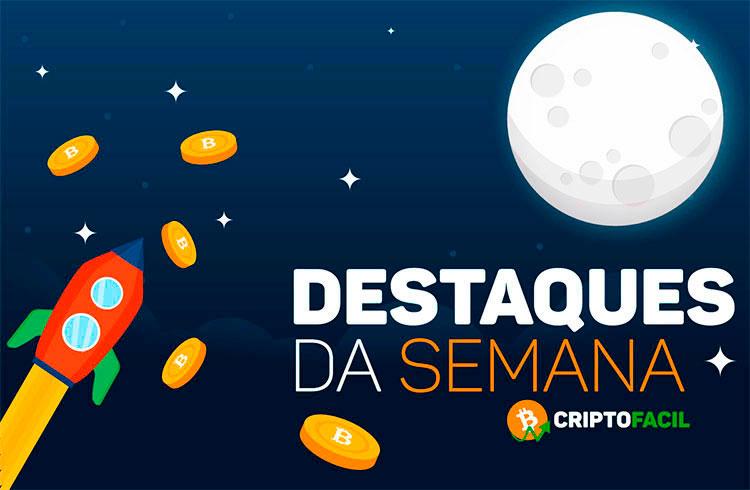 Semana das criptomoedas: tokens disparam e criptomoedas podem dar bons lucros