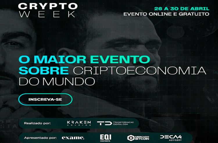 Crypto Week: maior evento de criptomoedas do mundo ocorre na próxima semana
